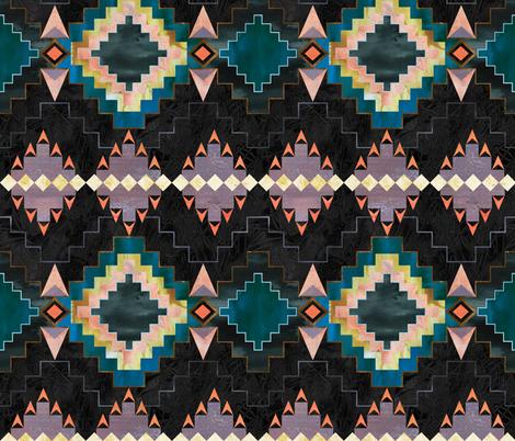 Kilim Kind 02b fabric by schatzibrown on Spoonflower - custom fabric