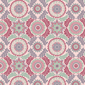 Greek Mandalas in Pink and Green