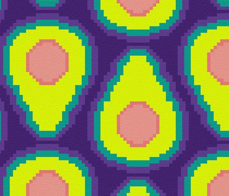 Avocado carpet fabric by cynthiahoekstra on Spoonflower - custom fabric