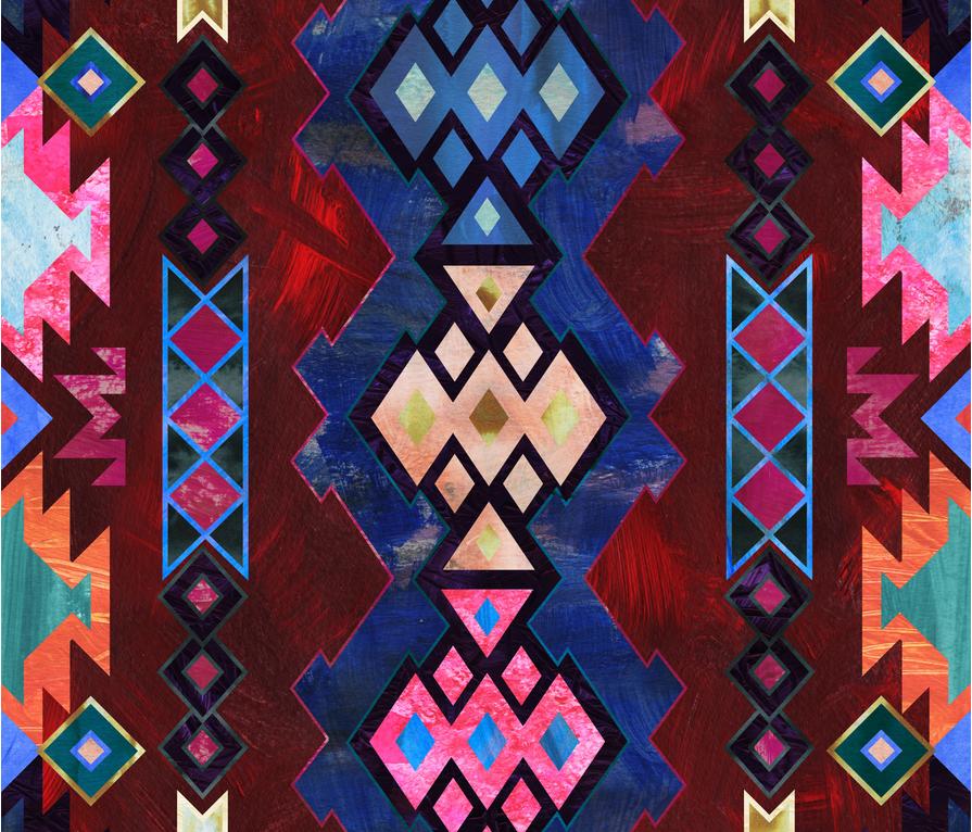kilim kind 4b fabric by schatzibrown on Spoonflower - custom fabric