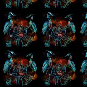Shaman herons_