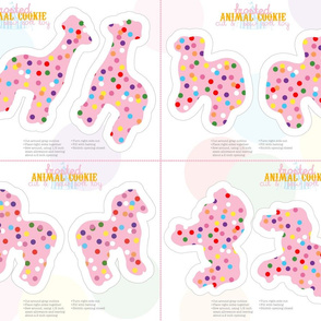 Animal Cookie Soft Toys (16 per yard)