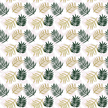Palms fabric by montgomeryfest on Spoonflower - custom fabric