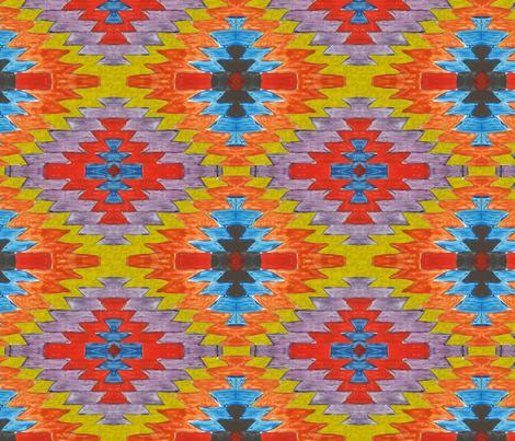 kilim fabric by belana on Spoonflower - custom fabric