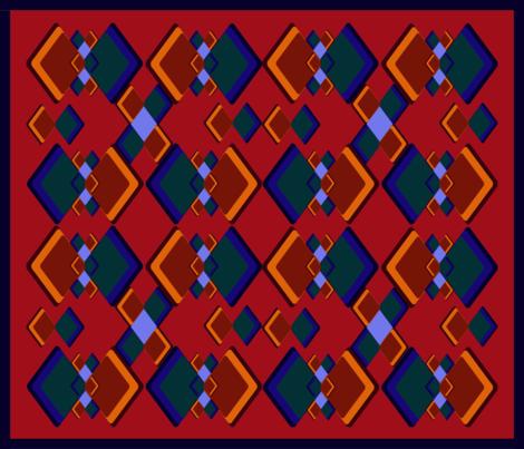kilim3 fabric by scifiwritir on Spoonflower - custom fabric