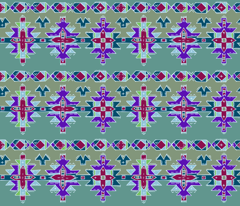 hand drawn kilim. fabric by katebartholomew on Spoonflower - custom fabric