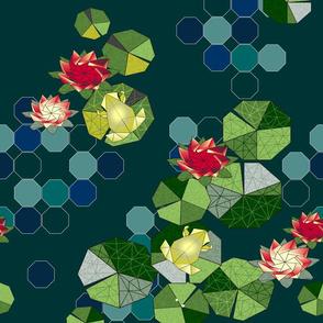 Lotus Pond Origami