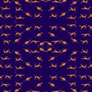 Sociable_Hound_Pack-Saffron_On_Blue