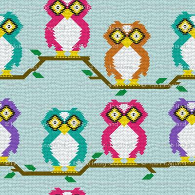 Kilim owl weave