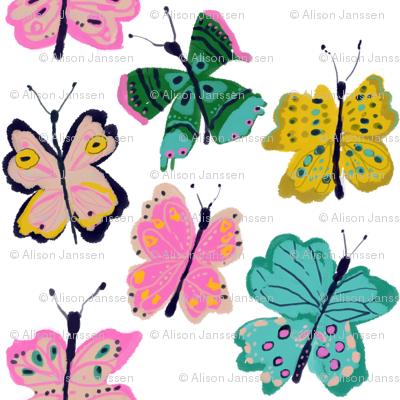 Spring butterflies