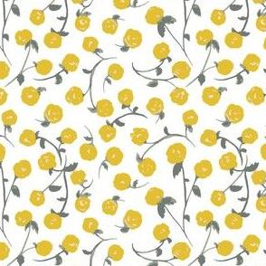 Mono-floral--yellow