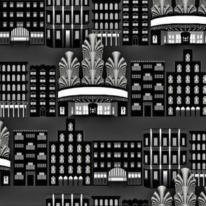Deco Downtown, Night