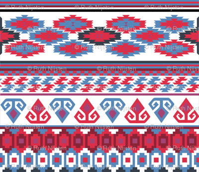 the Rams Horn and the Star Kilim