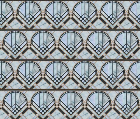 DecoWindowBlueMarble fabric by caela_bee_designs on Spoonflower - custom fabric