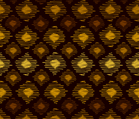 Gold Weave fabric by mariamsol on Spoonflower - custom fabric