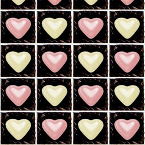 2 milk strawberry white pink Chocolates Hearts valentine love desserts candy sweets food kawaii cute candies boxes mixed assorted egl elegant gothic lolita