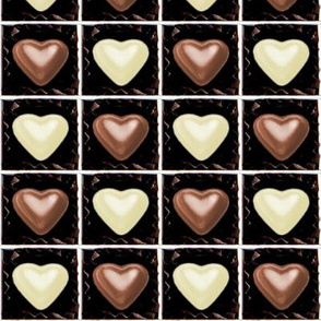 3 milk white brown Chocolates Hearts valentine love desserts candy sweets food kawaii cute candies boxes mixed assorted egl elegant gothic lolita