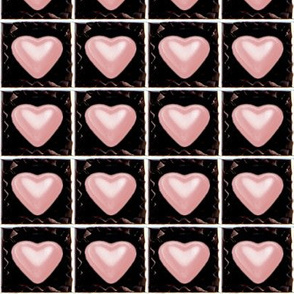 5 milk pink Chocolates Hearts valentine love desserts candy sweets food kawaii cute candies boxes mixed assorted egl elegant gothic lolita
