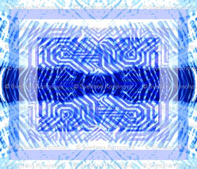 Blue Kilim