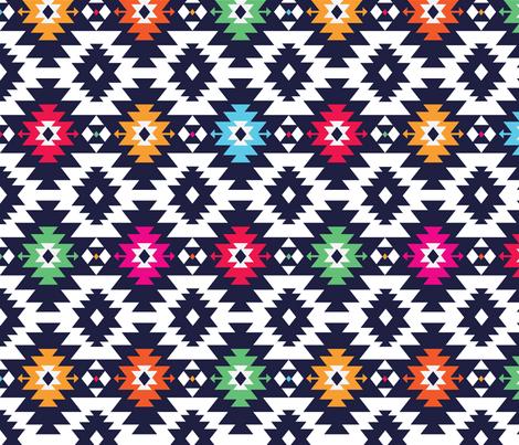 kilim fabric by inkytinc on Spoonflower - custom fabric