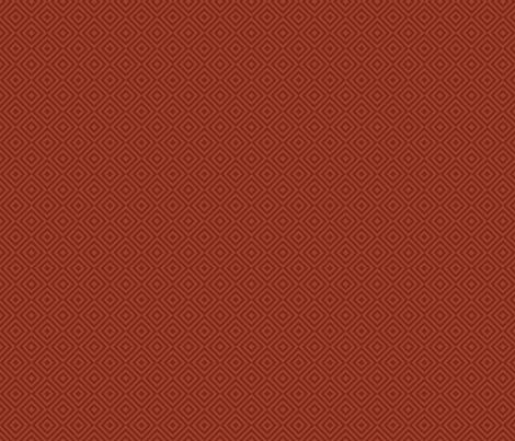 rhombus rust fabric by colorofmagic on Spoonflower - custom fabric