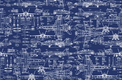 F-18 Blueprints // Small