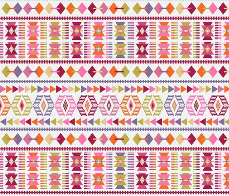 Modern Kilim fabric by red_raspberry_designs on Spoonflower - custom fabric