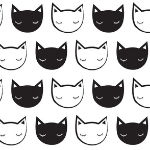 Monochrome Cats