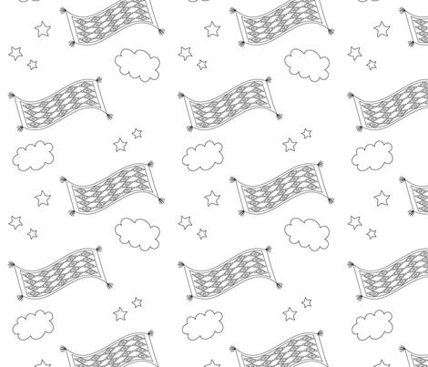 Magic carpet fabric by shinebrightoday on Spoonflower - custom fabric