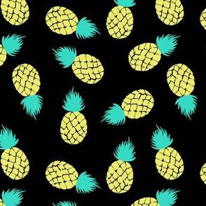 pineapple on black Medium