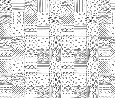 kilim texture fabric by kostolom3000 on Spoonflower - custom fabric