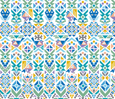 Anatolian Winter fabric by christinewitte on Spoonflower - custom fabric