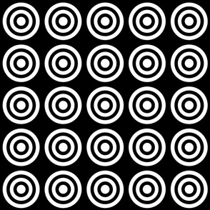 Target black and white