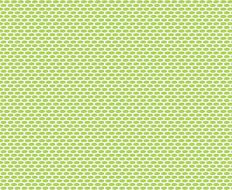 Little Green Leaves, Curved Lines, Botanical Art, Modern Green Leaf Print fabric by galleryinthegardendesigns on Spoonflower - custom fabric