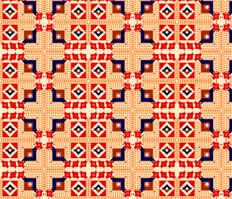 Turkish Kilim 2018 fabric by miriamcarnase on Spoonflower - custom fabric