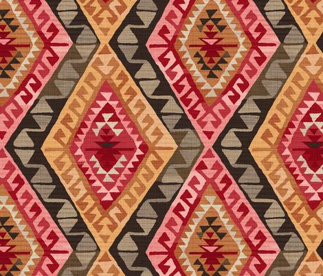 Kilim fabric by byre_wilde on Spoonflower - custom fabric