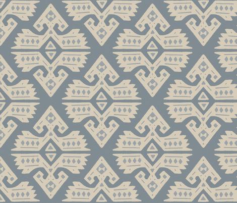 Kilim Rug fabric by moodyrooster on Spoonflower - custom fabric