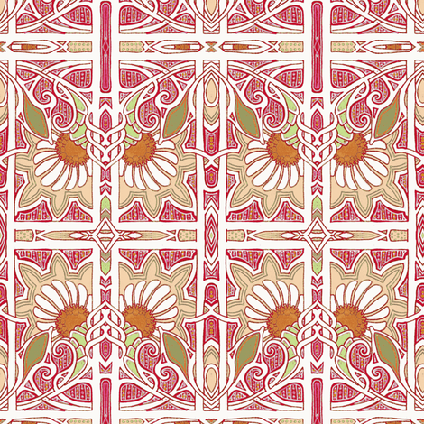 Eight More Weeks Until Spring fabric by edsel2084 on Spoonflower - custom fabric