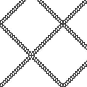 dark grey diamond octagon diamonds gray