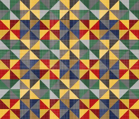 Magical Origami fabric by fabric_rocks on Spoonflower - custom fabric