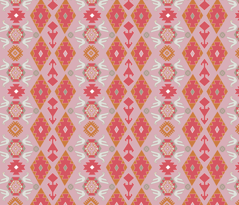 Kilim-Challenge fabric by katelancaster on Spoonflower - custom fabric