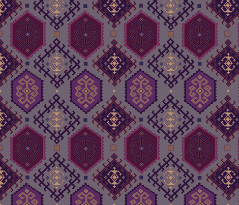his and hers fabric by groundfeather_studio on Spoonflower - custom fabric