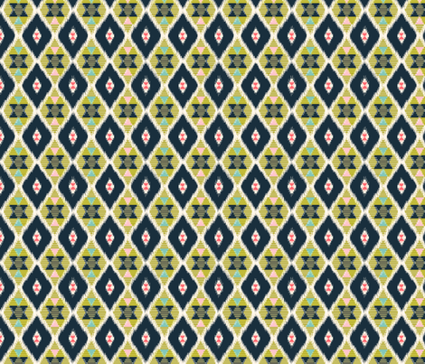 Ikat Kilim fabric by theboutiquestudio on Spoonflower - custom fabric