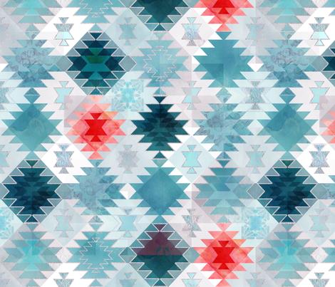 Soft Kilim fabric by adenaj on Spoonflower - custom fabric