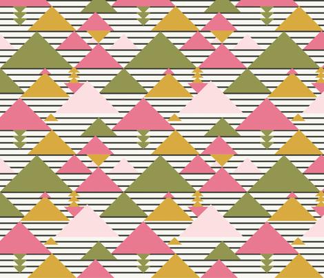 Modern kilim fabric by flowie on Spoonflower - custom fabric