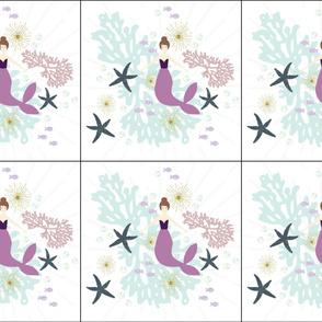 6 loveys: laguna mermaid single motif brunette