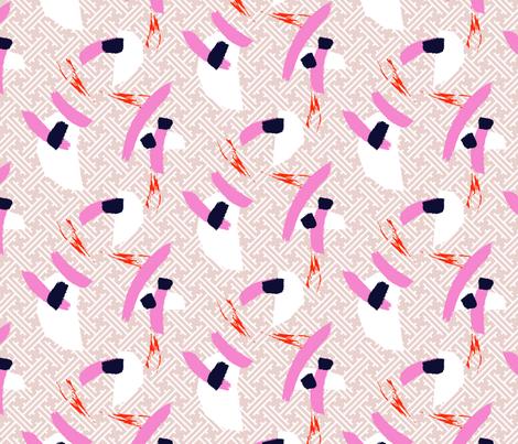 Carpet rose fabric by yopixart on Spoonflower - custom fabric