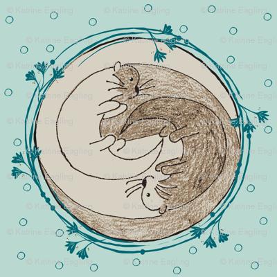 ying-yang dotty otters