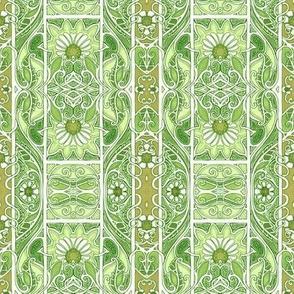 Green of Spring Stripe