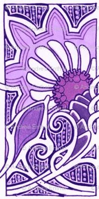 Blooming Purple in Paris